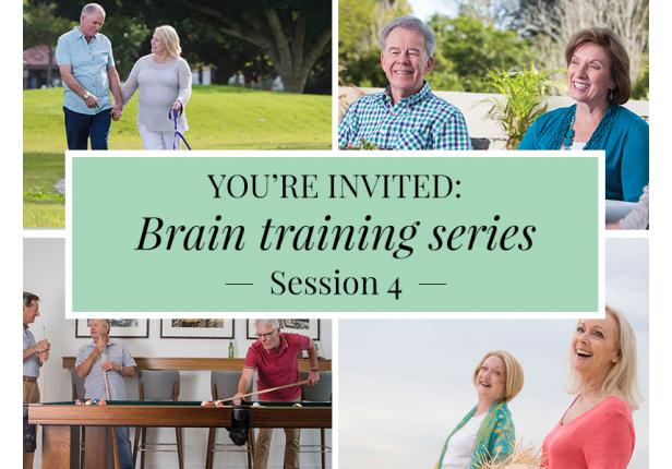 Free event | Brain training session 4
