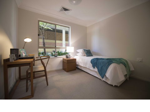 Spacious duplex villa with private courtyard and East-facing views at Anglicare Warrina Village