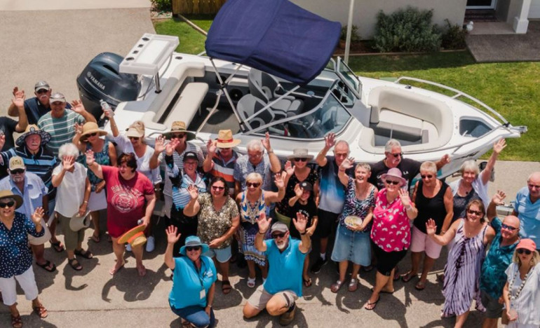 Retirement community boats hit the water to make downsizing swell
