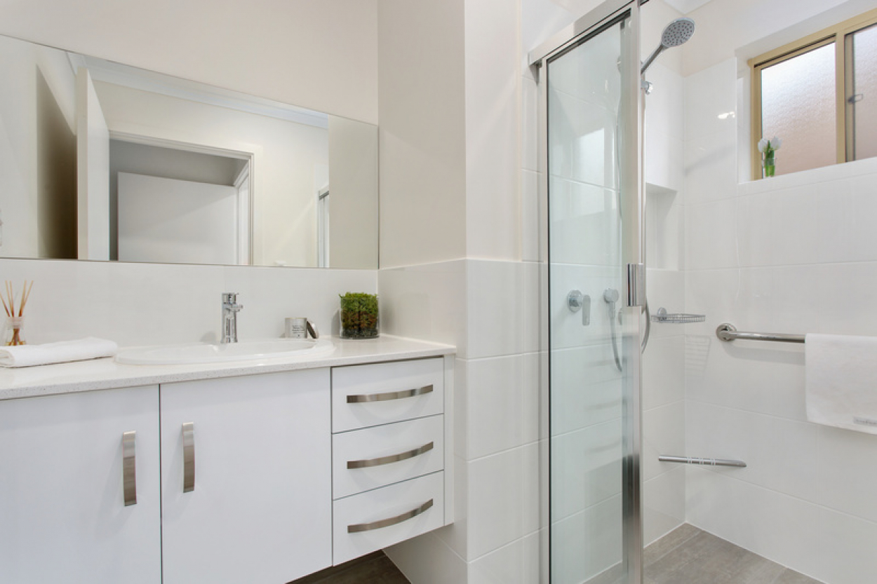 Modern two bedroom unit