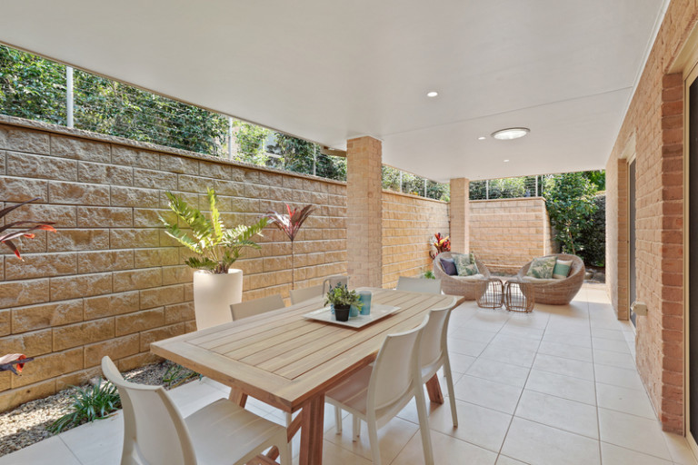 Spacious 3-bedroom villa with private rear patio area