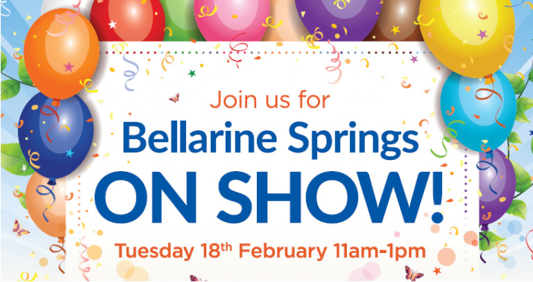 You're invited to Bellarine Springs On Show