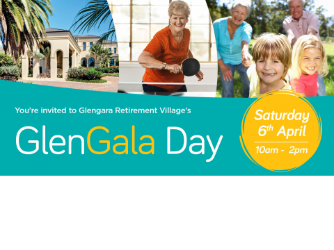You're invited to a family fun GlenGala Day!