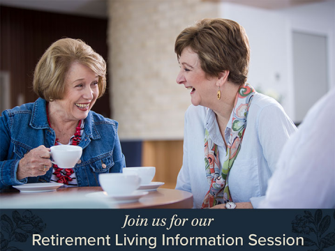 Retirement Living Information Session | The Atrium Lutwyche