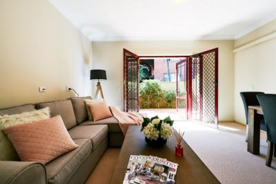 Beautiful two-bedroom retirement unit in Westcourt Village