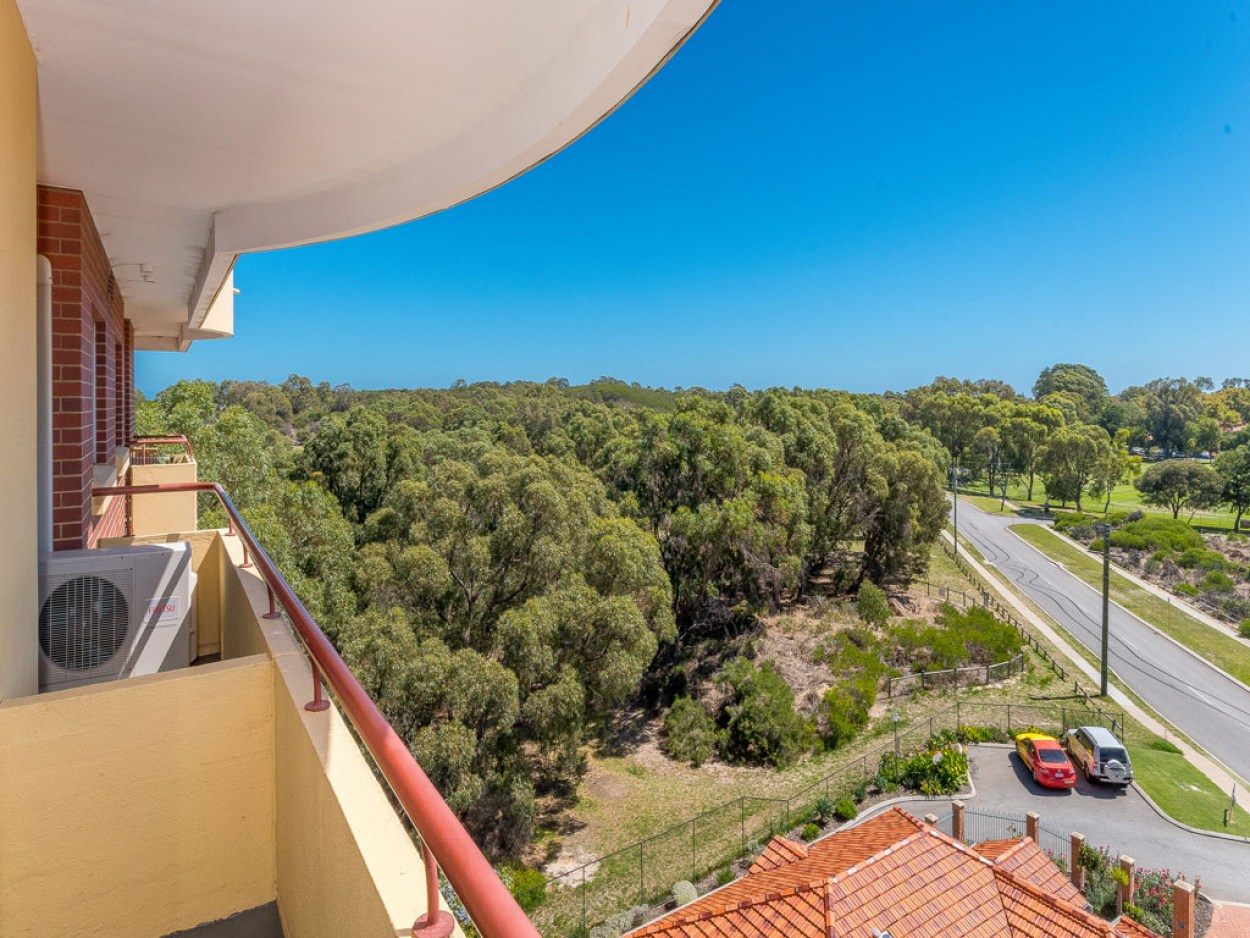 A winter warmer with top floor views 702/1  Jeanes Road - Karrinyup 6018 Retirement Property for Sale