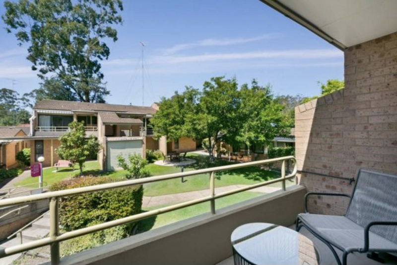 Two bedroom units in tranquil setting now selling