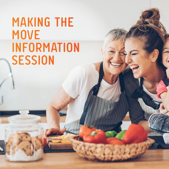 Thinking of Making the Move? Free Information Session and Afternoon Tea. North Epping