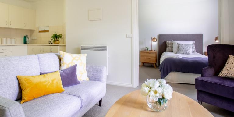 Spacious 1Bed Serviced Apartment - Burnside Retirement Village