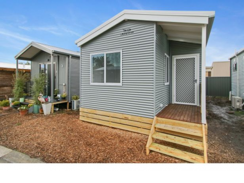 OVER 50's LIVING - NEW TWO BEDROOM HOME