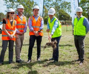 Construction underway after buyers rush Queensland project