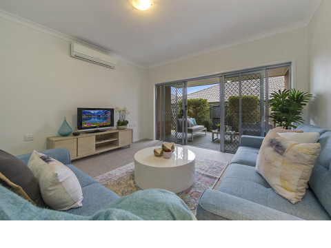 Spacious, well designed home with media room – ready to move into now!