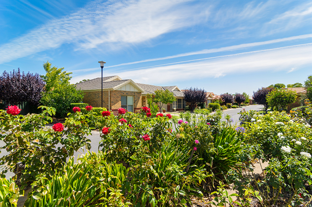 Live maintenance free in a vibrant and active retirement community