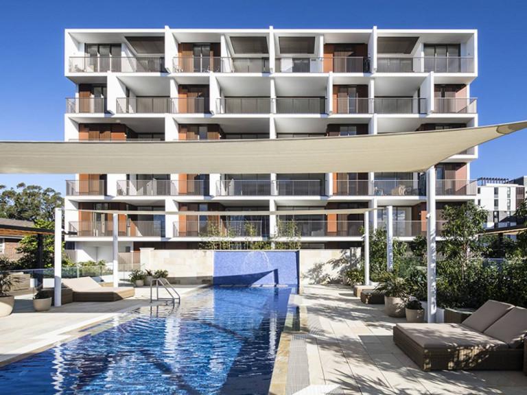 Oversized one bedroom in resort style facilities