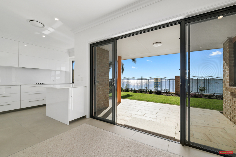Stunning new to the market 3 bedroom waterfront villa designed to delight at Victoria Point