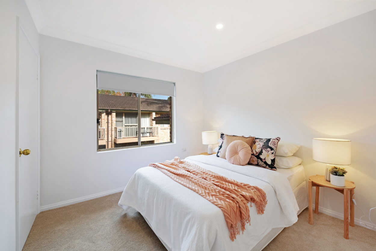 Recently updated light-filled two bedroom unit