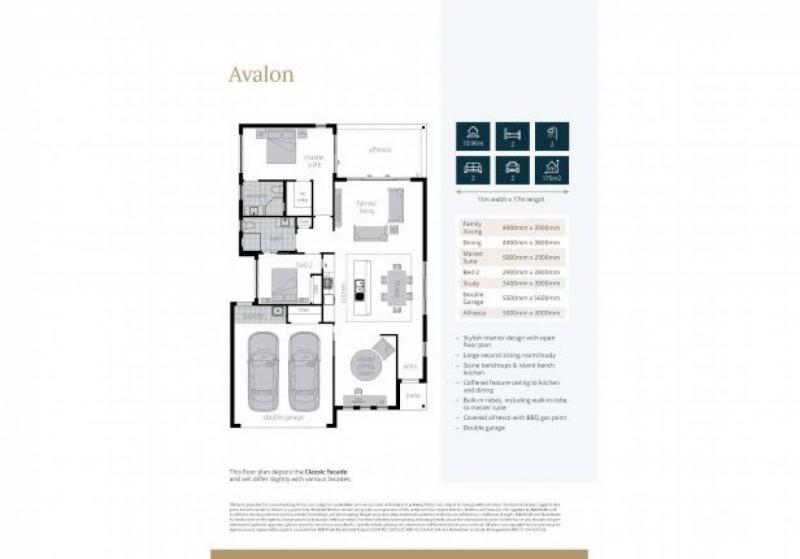 Hometown Australia - Sunrise 3 Bedroom Home