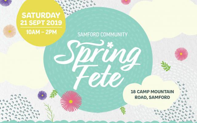 Join us for fun in the sun at the Samford Community Spring Fete!