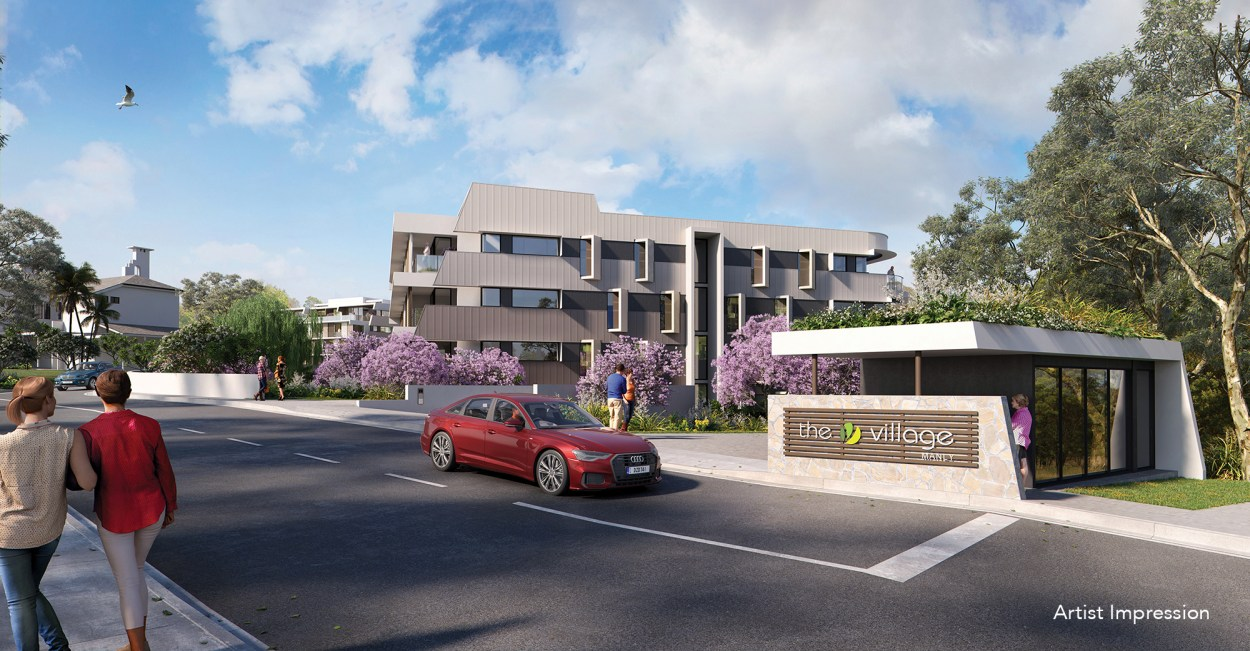 Introducing The Village Manly  162 Oceana Terrace - Manly 4179 Downsizing Apartment for Sale