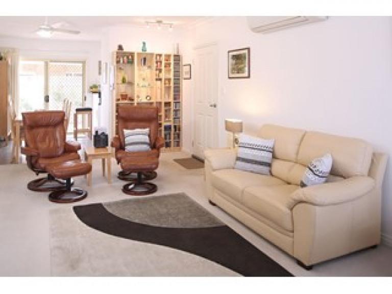 2 Bedroom Hibiscus.  Brilliant features.   Move in now.