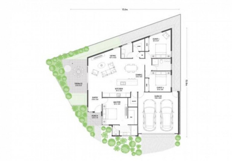 Orianna Lifestyle Resort - Pascoe 3 Bedroom Home