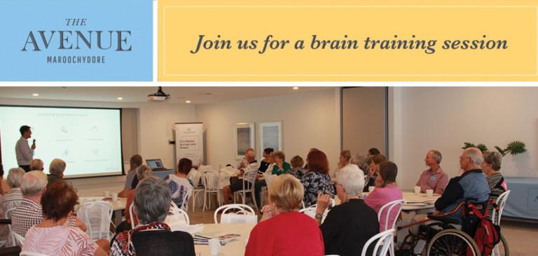 Brain training session | The Avenue Maroochydore