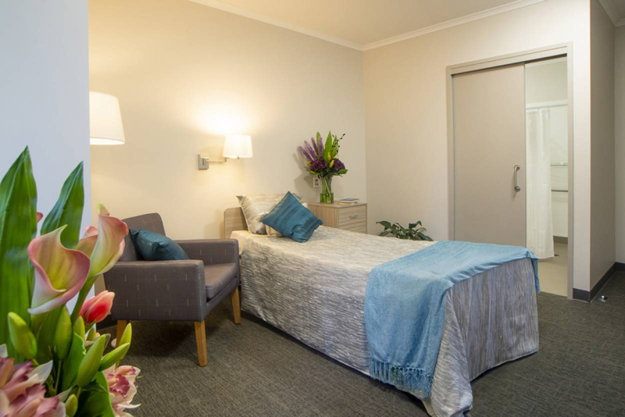 Premium Single Room with modern ensuite now available at Resthaven Mitcham!