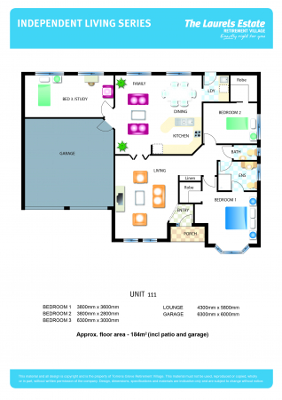 Rarely available 3 bedroom double garage with all the extras!