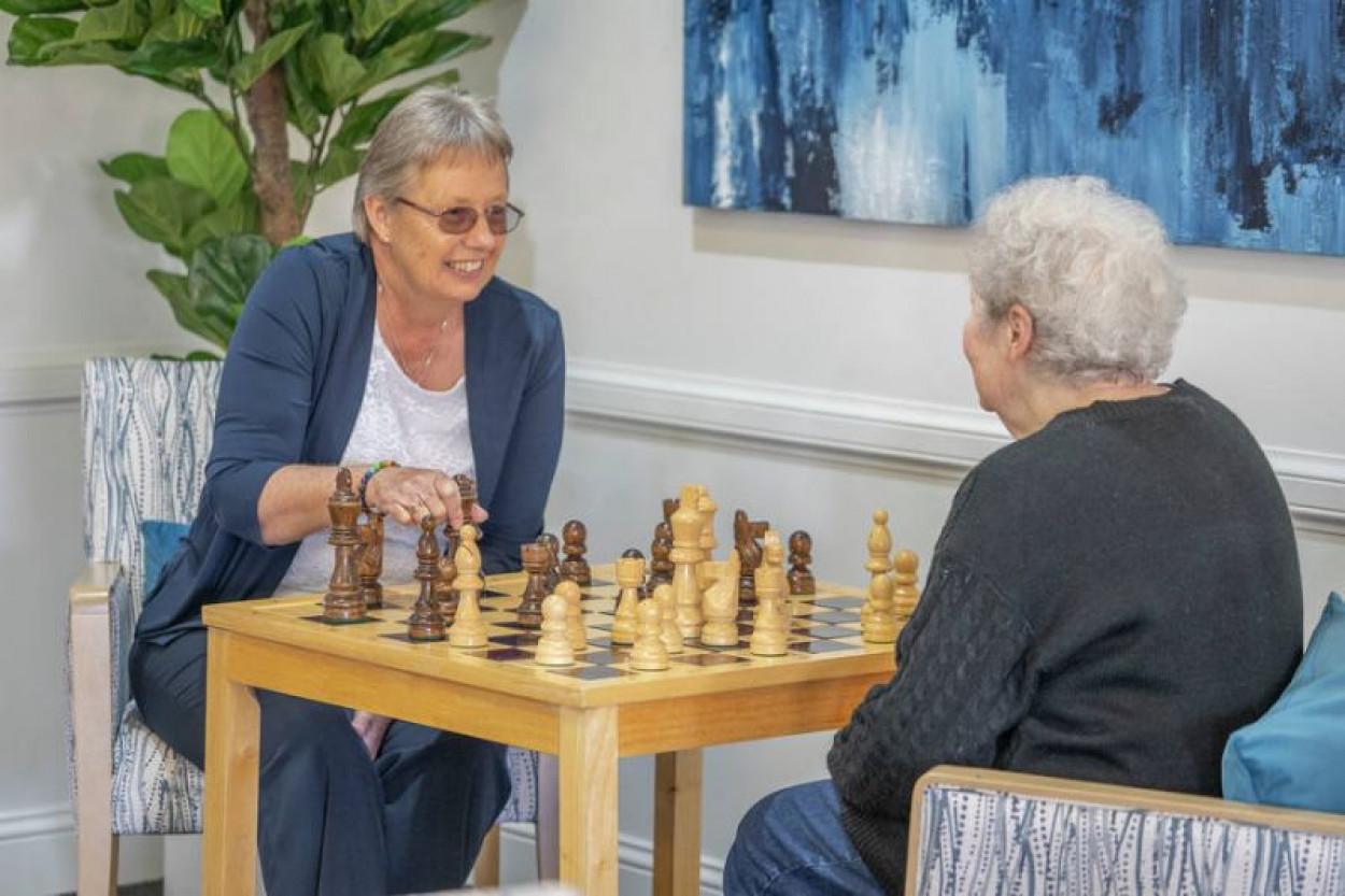 Beautiful Retirement Community