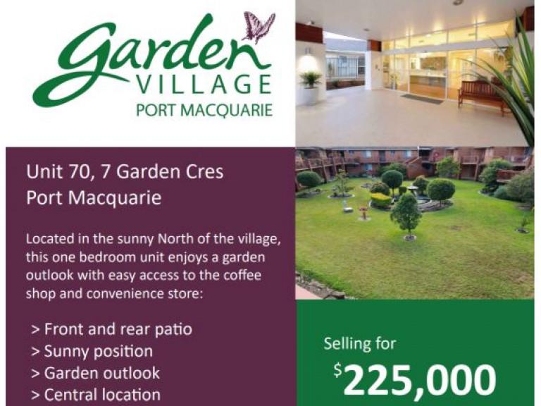 Garden Village Unit 70
