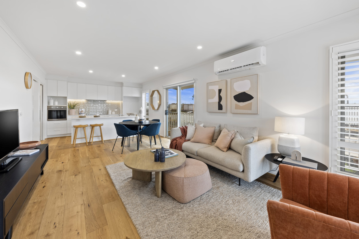 The Allan provides you with your own intimate sanctuary that combines character with stylish open-plan living. 21 Mushu Street - Deanside 3336 Retirement Property for Sale
