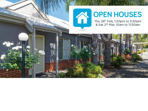 You're invited to Harwin's open houses