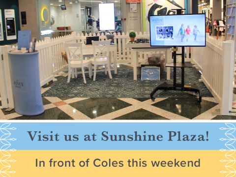 Visit us at Sunshine Plaza!