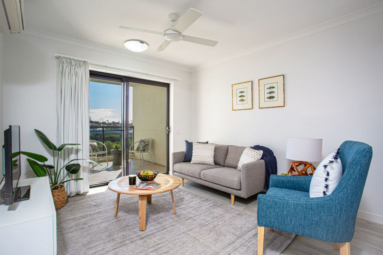 North facing unit with a good sea view