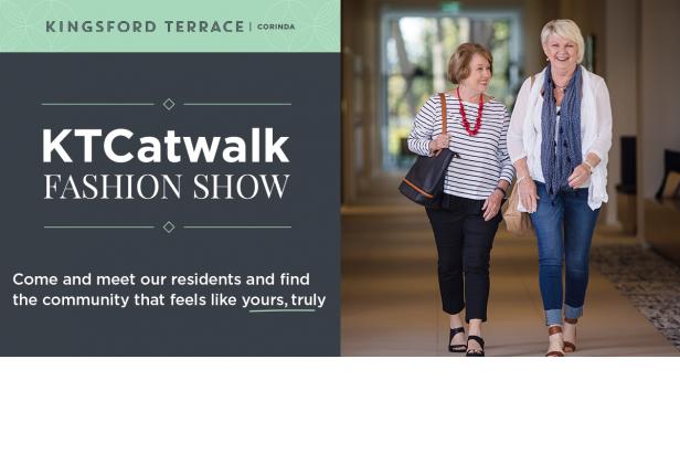 KTCatwalk fashion show | Kingsford Terrace Corinda