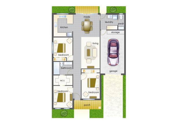 Villa 26 - Mountain View Leongatha - 3 Bedroom Single Garage