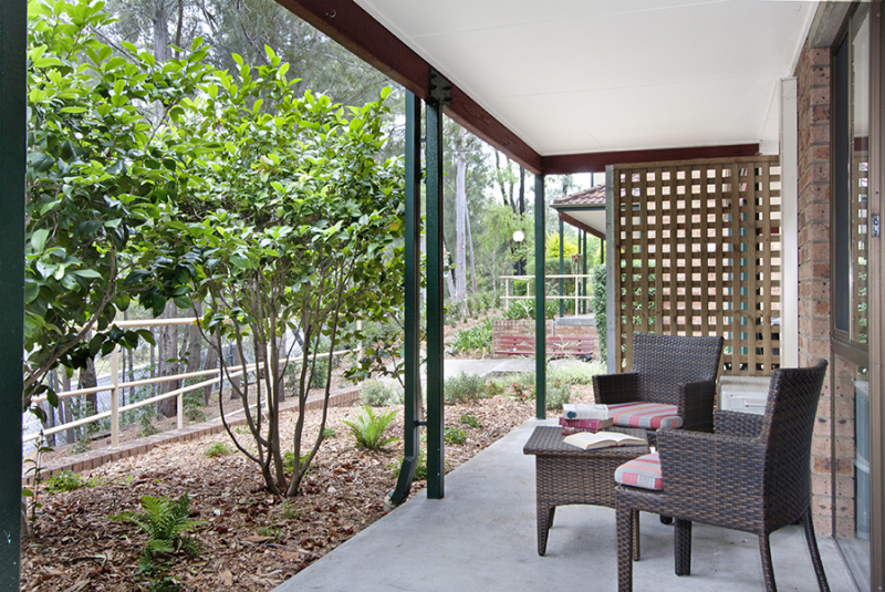 Retirement living in tranquil setting