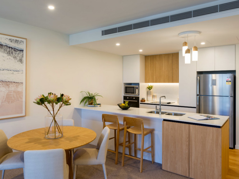 Downsize to a stylish apartment in the heart of it all
