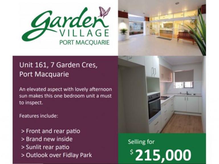 Garden Village Unit 161