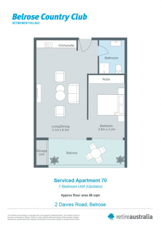 Sunny apartment with large north/east facing patio
