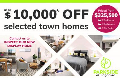 Parkside,Loganlea - Downsizing Over 50 Special offer