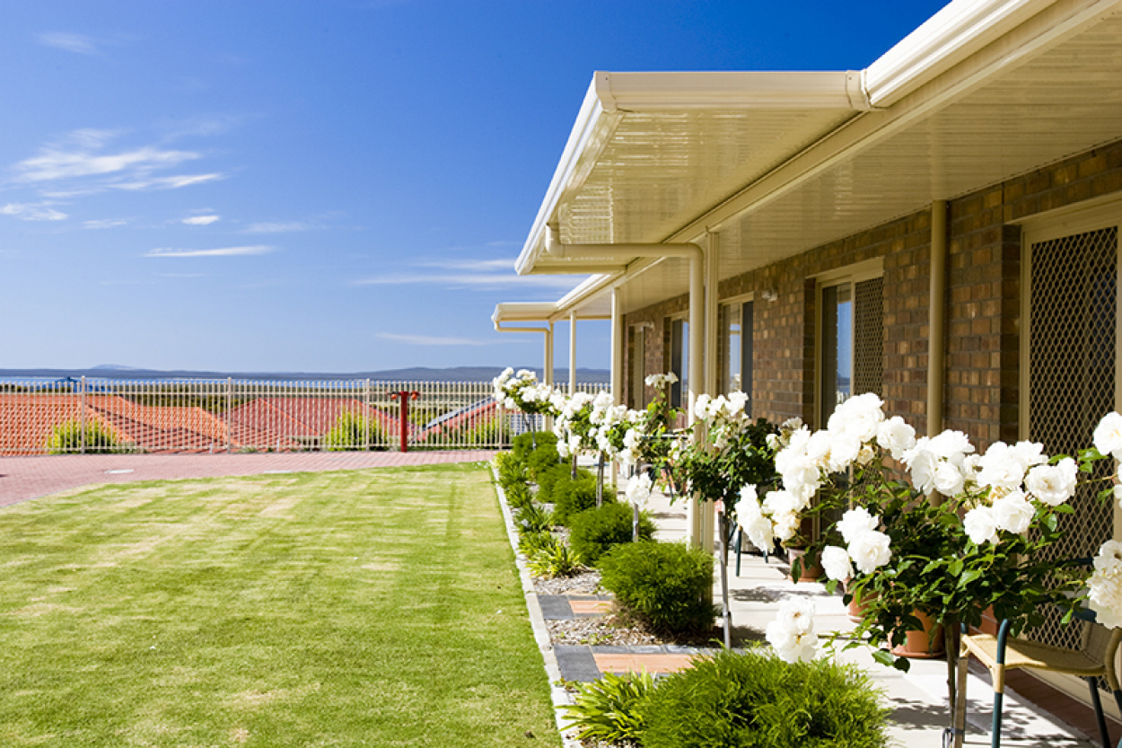 Enjoy the sea views from your very own backyard