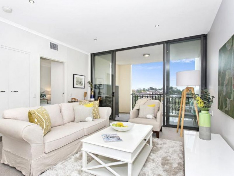 Elevated two bedroom, two bathroom apartment with a handy central location