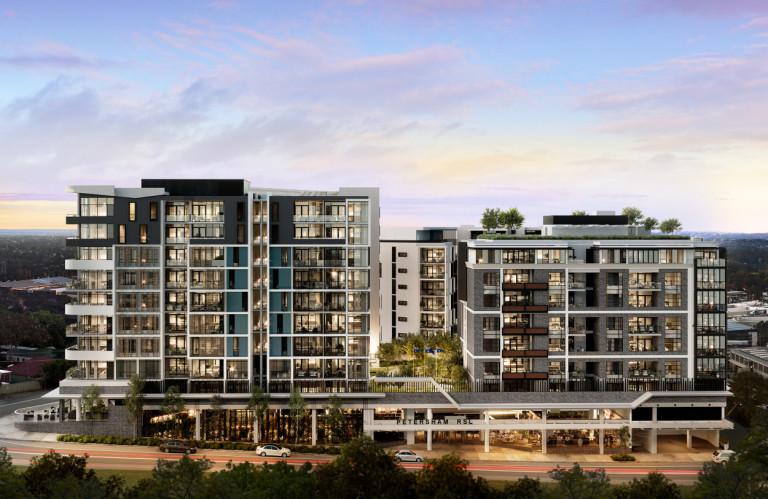 The Siding, Petersham - Everything within walking distance.