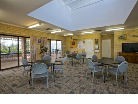 Frederick Guest Village beautifully kept one and two-bedroom homes and established gardens.