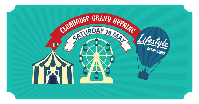 Clubhouse Grand Opening at Lifestyle Ocean Grove