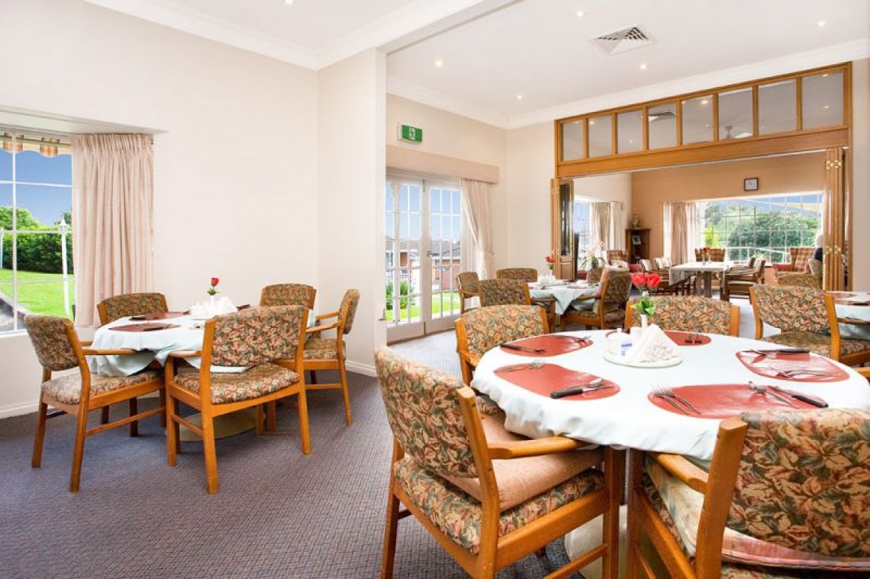Affordable serviced apartment living at Greglea Retirement Community