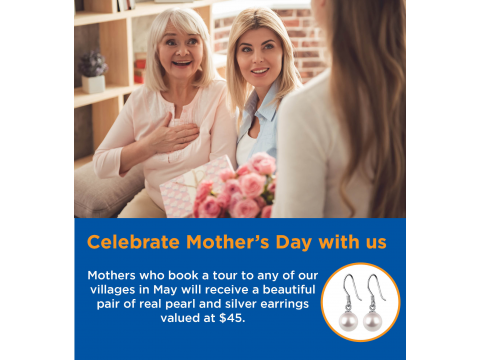 Celebrate Mother's Day with us at Bay Waters Glenelg!