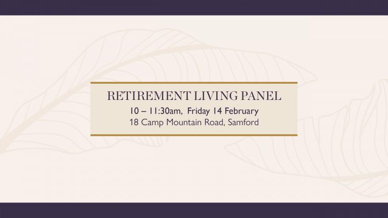 Retirement Living Panel