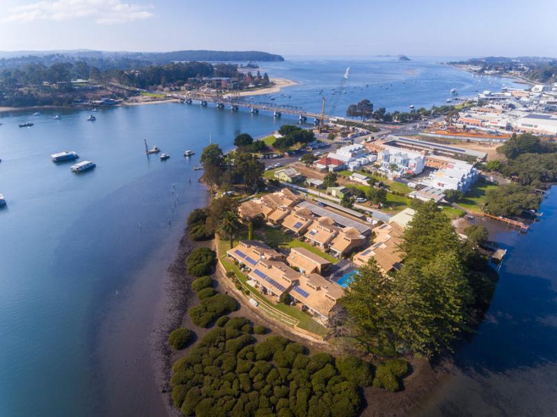 Enviable coastal lifestyle